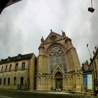 Photo taken at Collège et Lycée Saint-Joseph by Richard C. on 10/24/2012