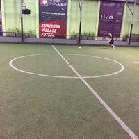 Photo taken at Kuningan Village Futsal & Food Park by Pavel K. on 6/9/2016