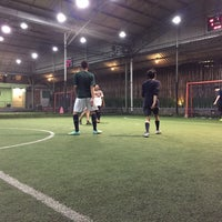 Photo taken at Kuningan Village Futsal & Food Park by Pavel K. on 5/16/2016