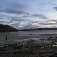 Photo taken at Daymer Bay by Dave W. on 9/4/2015
