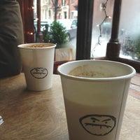 Photo taken at Café Grumpy by yuna l. on 2/11/2013