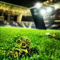 Photo taken at Estádio do Dragão by Sérginho M. on 10/3/2012