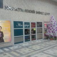 Photo taken at БЦ «Нагатинский» by Вадим С. on 12/21/2012