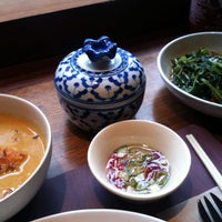 Photo taken at Busaba Eathai by Claire C. on 6/28/2013