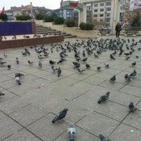 Photo taken at Bakırköy Özgürlük Meydanı by Elif Ü. on 2/6/2013