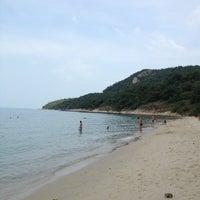 Photo taken at Sai Keaw Beach by Larisa C. on 12/4/2012