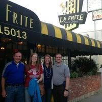 Photo taken at La Frite Cafe by Ben J. D. on 7/28/2015