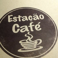 Photo taken at Estação Café by Alexandre S. on 1/14/2013