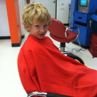 Photo taken at Cool Cuts for Kids by Jill R. on 10/10/2012