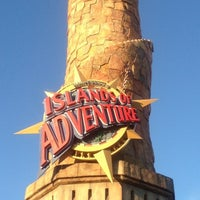 Photo taken at Islands Of Adventure Lighthouse by Ray Q. on 3/14/2013