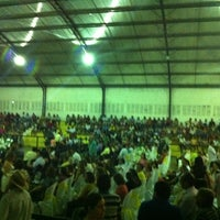 Photo taken at Ginasio de Esportes de Jaguaretama by Dandara L. on 1/1/2013