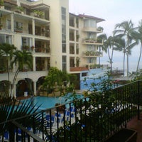 Photo taken at Hotel Playa Los Arcos by América R. on 10/1/2012