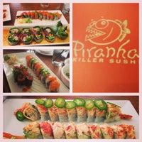 Photo taken at Piranha Killer Sushi by Benjamin F. on 3/11/2013