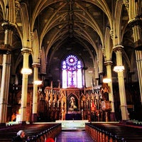 Photo taken at St. Patrick's Old Cathedral by Neil T. on 2/16/2013