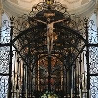 Photo taken at Hofkirche by Sedef on 11/18/2016
