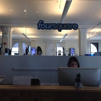 Photo taken at Foursquare HQ by Léna Le Rolland on 9/5/2013