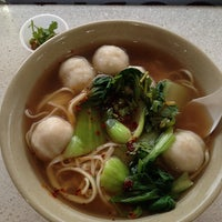 Photo taken at Wong Good Hand Pull Noodle by Marivic G. on 5/21/2014