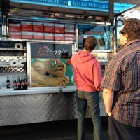 Photo taken at Piaggio Gourmet on Wheels by Michelle R. on 3/29/2013