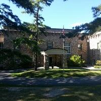 Photo taken at King's Gap Mansion by Tanner S. on 9/14/2013