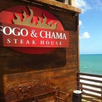Photo taken at Fogo & Chama Steak House by Emmanoel on 11/27/2012