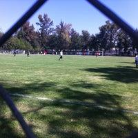 Photo taken at Unidad Deportiva Miguel Aleman Valdez by pollo R. on 8/16/2013
