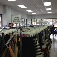 Photo taken at Community Thrift Store by Jimmy S. on 10/29/2012