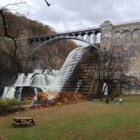 Photo taken at Croton Gorge Park by Herb K. on 10/28/2012
