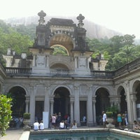 Photo taken at Parque Lage by Teresa J. on 3/23/2013