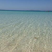 Photo taken at Ilıca Plajı by S.can E. on 5/31/2013