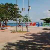 Photo taken at Pantai Bahari Polewali by Null W. on 8/17/2016