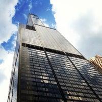 Photo taken at Willis Tower by C Daniel R. on 7/19/2013