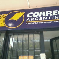 Photo taken at Correo Argentino by Mónica C. on 9/17/2012