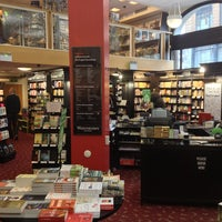 Photo taken at Waterstones by Dmitry S. on 4/10/2013