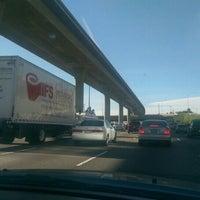 Photo taken at Interstate 5 (Santa Ana Freeway) by Salem D. on 4/22/2016