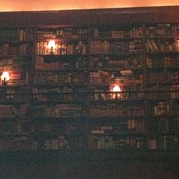 Photo taken at The Library at Hudson Hotel by Michael P. on 12/20/2012
