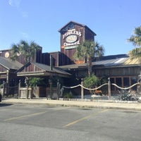 Photo taken at Fiddlers Crab House & Oyster Barn by Mayson C. on 1/20/2013
