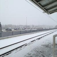 Photo taken at RTD - Yale Light Rail Station by Chris K. on 4/23/2013