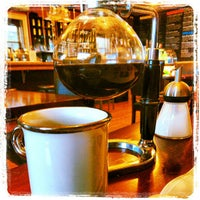 Photo taken at Jaho Coffee Roasters by Steve Q. on 10/20/2012