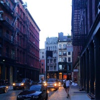 Photo taken at Crosby Street & Grand Street by Keilon L. on 7/6/2013