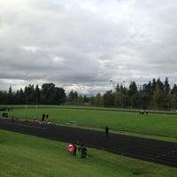 Photo taken at Kentridge High School by Joey B. on 9/17/2013