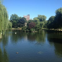 Photo taken at Boston Public Garden by Justin K. on 8/15/2013