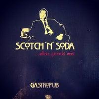 Photo taken at Scotch 'N' Soda by Chris on 2/16/2013