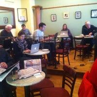 Photo taken at Unicorn Café by Christine L. on 10/19/2012