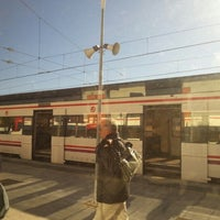 Photo taken at RENFE L'Hospitalet de Llobregat by Anna O. on 1/28/2013