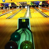 Photo taken at AMF Imperial Lanes by Lauren on 4/21/2013