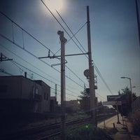 Photo taken at Stazione di Pompei by Cristiano E. on 9/2/2013