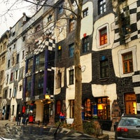 Photo taken at KUNST HAUS WIEN. Museum Hundertwasser by kuboon O. on 1/4/2013