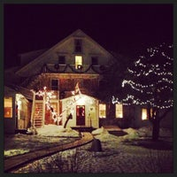 Photo taken at Windham Hill Inn by Jaclyn C. on 1/13/2014