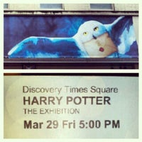 Photo taken at Harry Potter: The Exhibition by Jeff D. on 3/29/2013