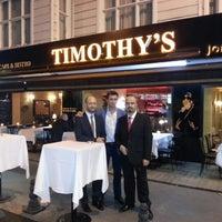Photo taken at Timothy's by mehmet Ç. on 11/10/2012